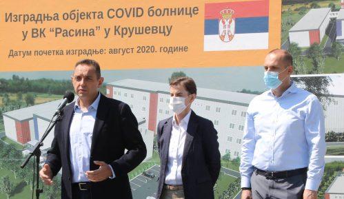 Vulin: Nije bilo nikakvog ilegalnog prelaza, reč je o jednovremenoj patroli između Vojske Srbije i Kfora 8