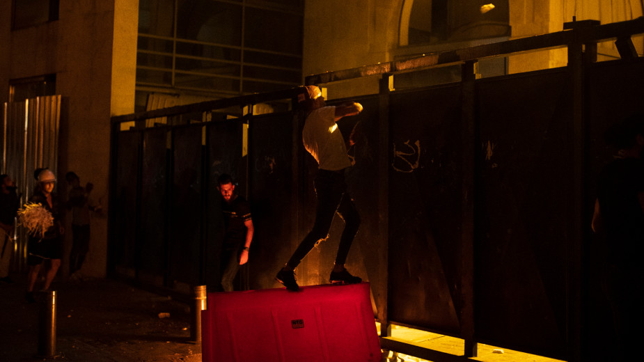 Policija upotrebila suzavac protiv demonstranata u Bejrutu (FOTO) 2