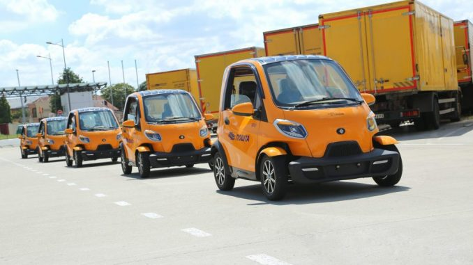 """Pošta Srbije"" dobija pet dostavnih vozila na električni pogon 1"