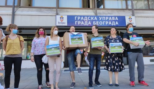 Inicijativa sutra predaje Vučiću zahtev da podrži obustavu najavljene gradnje u Košutnjaku 8