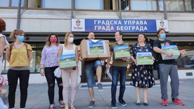 Inicijativa sutra predaje Vučiću zahtev da podrži obustavu najavljene gradnje u Košutnjaku 2