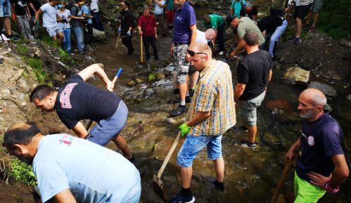 Probijena prva cev na MHE u Rakitskoj reci (FOTO) 4