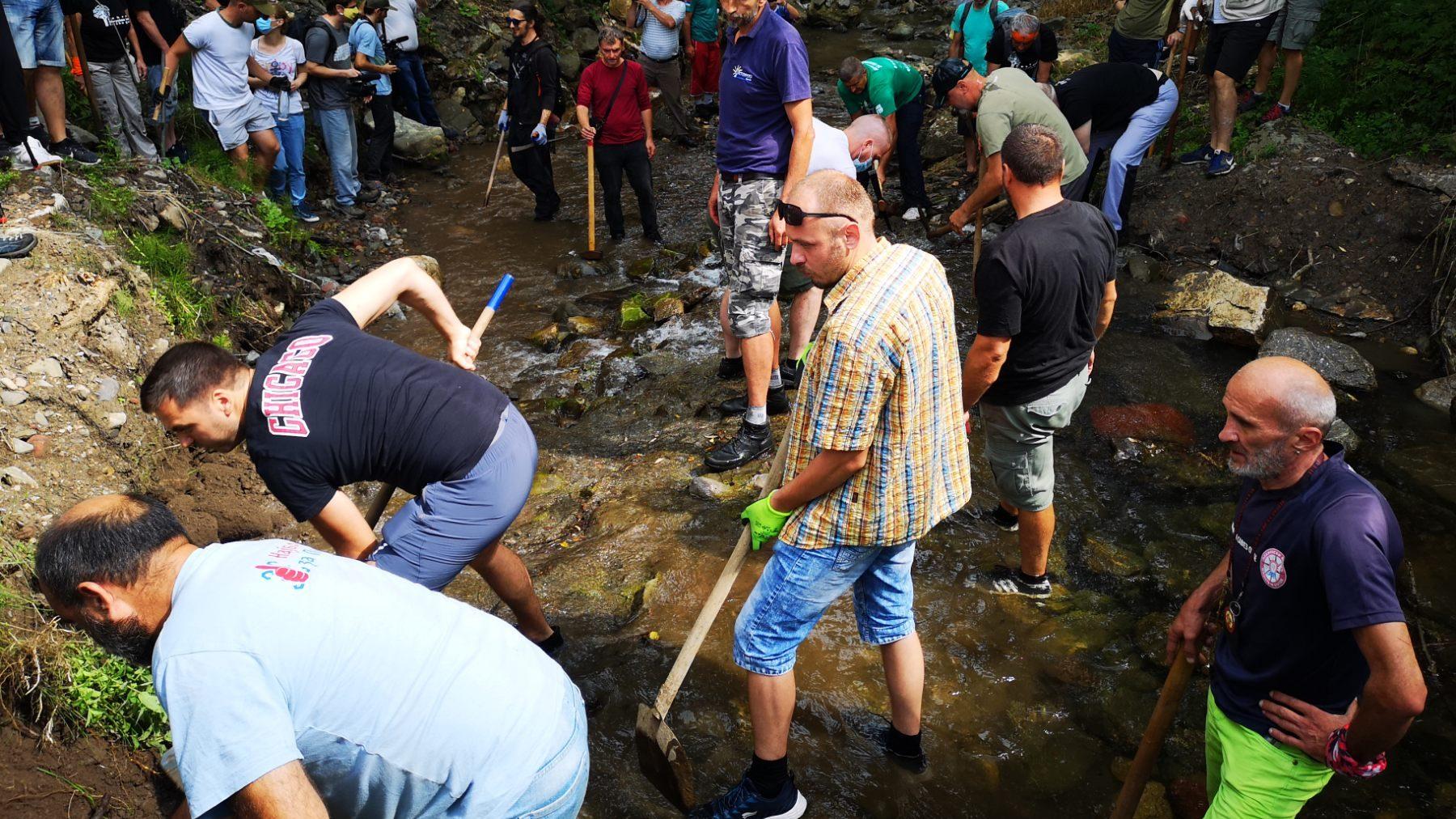 Probijena prva cev na MHE u Rakitskoj reci (FOTO) 1