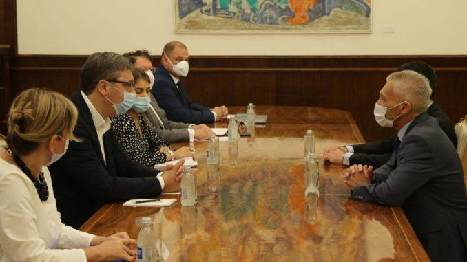 Aleksandar Vučić se sastao sa ambasadorom Ruske Federacije 3