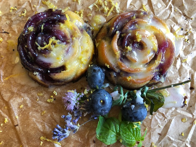 Kolač sa borovnicama i limunom (recept) 2