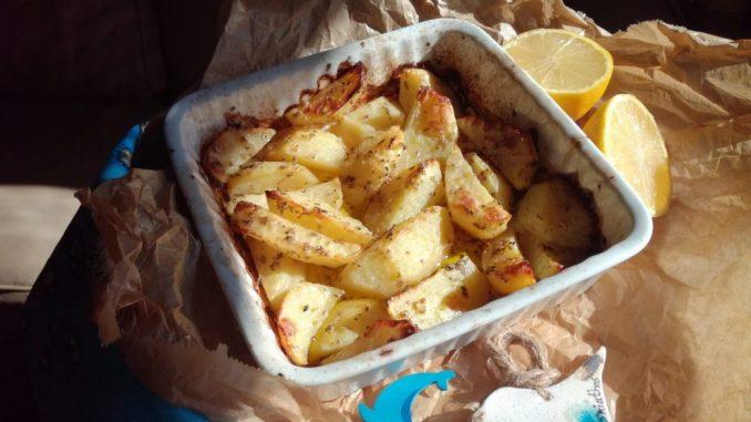 Grčki krompir sa limunom (recept) 3
