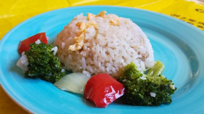 Prženi pirinač sa jajima (recept) 3