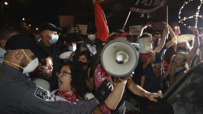 Hiljade Izraelaca demonstrirale protiv Netanjahua osmu subotu zaredom 1