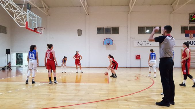 Korona je samo jedan od problema košarkašica Radničkog sa Crvenog krsta 1