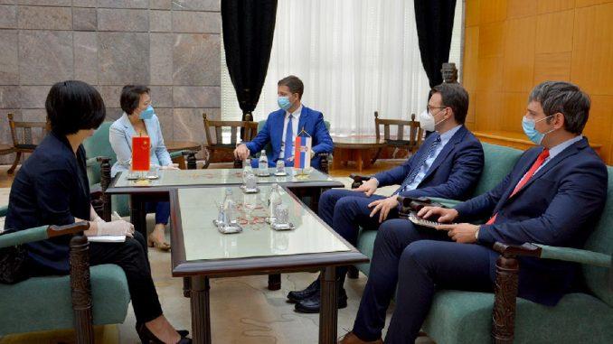 Đurić sa kineskom ambasadorkom o dijalogu Beograda i Prištine 1