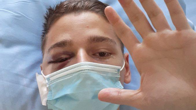 Napadnuti aktivista poručio posle operacije: Svaki građanin je žrtva Vučićevog režima 3