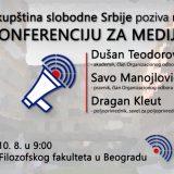 Konferencija Skupštine slobodne Srbije 10. agvusta na platou Filozofskog fakulteta 6