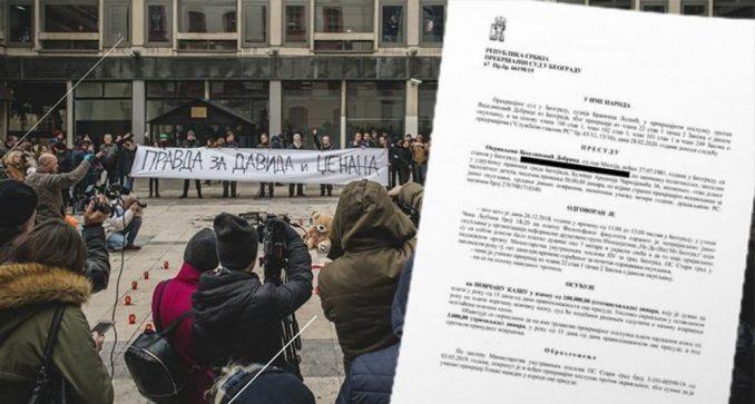 NDMBGD: Nećemo platiti kaznu za organizaciju skupa Srce za Davida 2