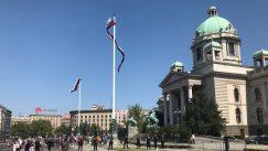 Građani se razišli posle protesta ispred Skupštine Srbije (FOTO) 3