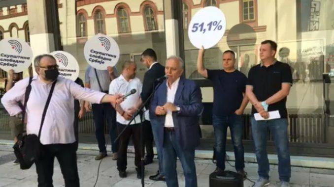 Teodorović: Skupština slobodne Srbije je pobuna protiv autokratskog režima (VIDEO) 2
