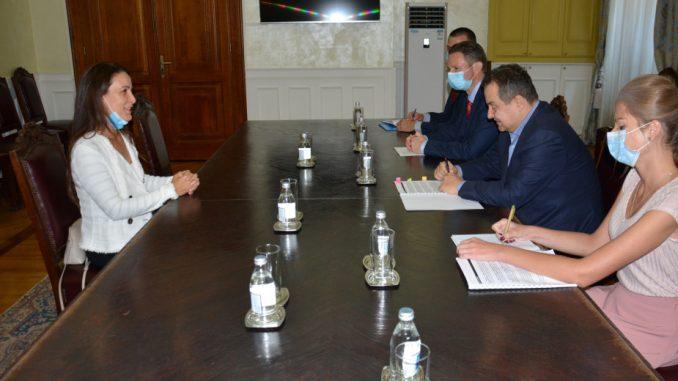 Predstavnica UNICEF-a u Srbiji u oproštajnoj poseti kod Dačića 2
