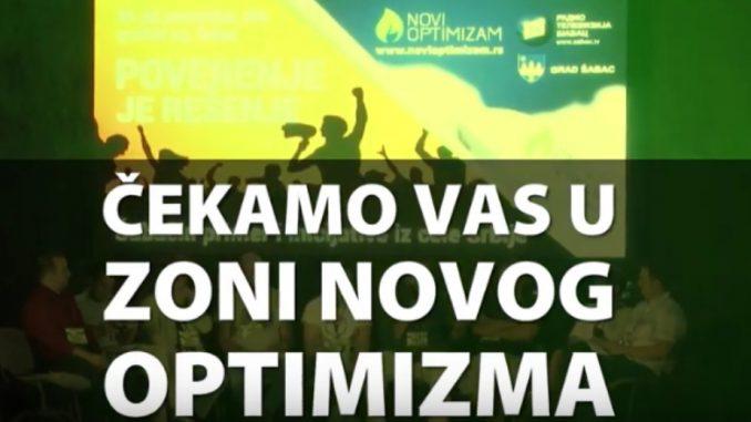 """""""Zona Novog Optimizma"""" u Šapcu od 31. avgusta do 3. septembra (VIDEO) 1"""