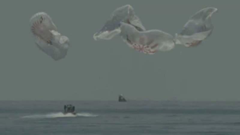 Dramatično spuštanje astronauta na Zemlju (VIDEO) 2