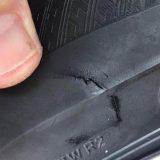 Probušena guma na automobilu urednika TV N1 2