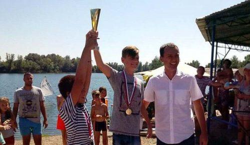 Vasko Bračinac iz JK Smederevo sveukupni pobednik 2. Šalinačkog kupa 9