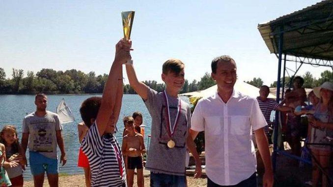 Vasko Bračinac iz JK Smederevo sveukupni pobednik 2. Šalinačkog kupa 4