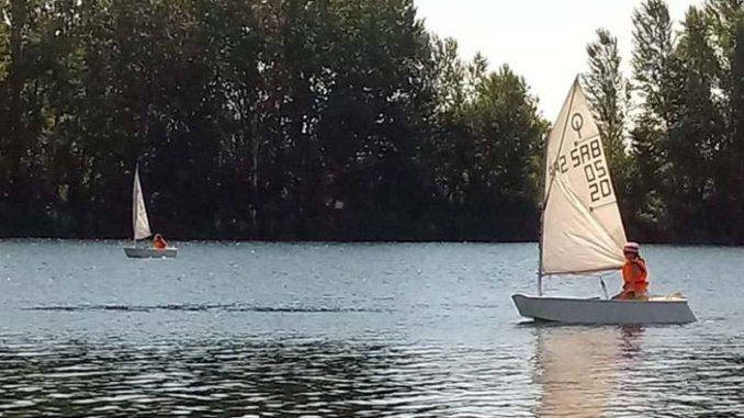 Druga sezona besplatne škole jedrenja na Šalinačkom jezeru 2