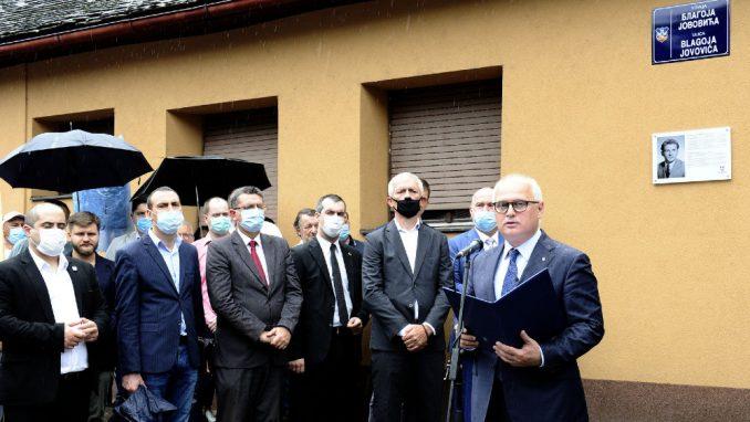 Vesić: Srbija i Beograd nikada neće zaboraviti Blagoja Jovovića 1
