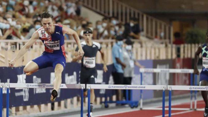 Varholmu izmakao svetski rekord na 400 metara s preponama 1