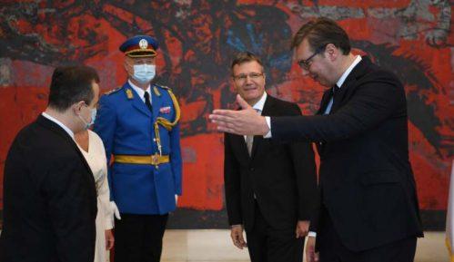 Vučić primio akreditivna pisma ambasadora Slovenije, Poljske i Kambodže 15