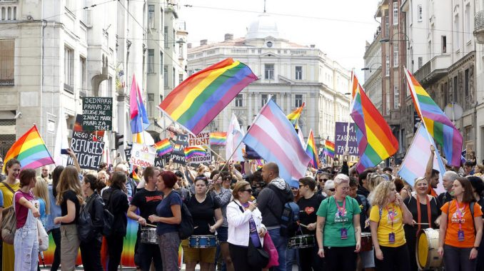 Odložena Parada ponosa u Sarajevu zbog pandemije 2