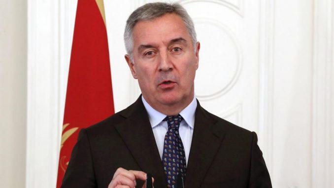 Đukanović uputio poziv na konsultacije o mandataru za sastav Vlade 4