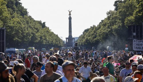 "Berlinski ""Dan slobode"" podržali neonacisti i teoretičari zavere 11"