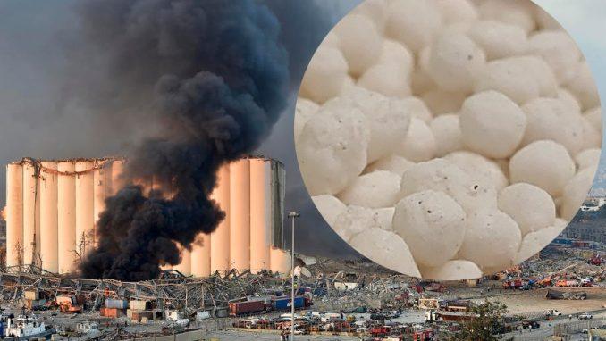 Šta je amonijum nitrat - hemikalija koja je potencijalni uzrok eksplozije u Bejrutu 8