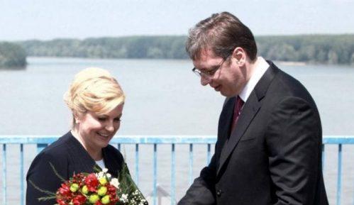 Vučić poželeo brz oporavak bivšoj hrvatskoj predsednici 11