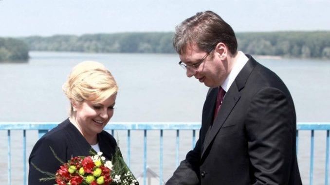 Vučić poželeo brz oporavak bivšoj hrvatskoj predsednici 1