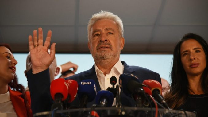 Krivokapić: Predlog vlade do 8. novembra 1