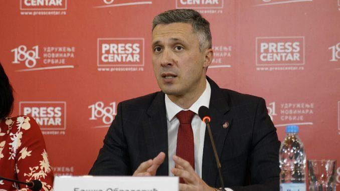 Obradović (Dveri): Vučić devet godina nije išao u Crnu Goru, ne bi trebao ni sad 1