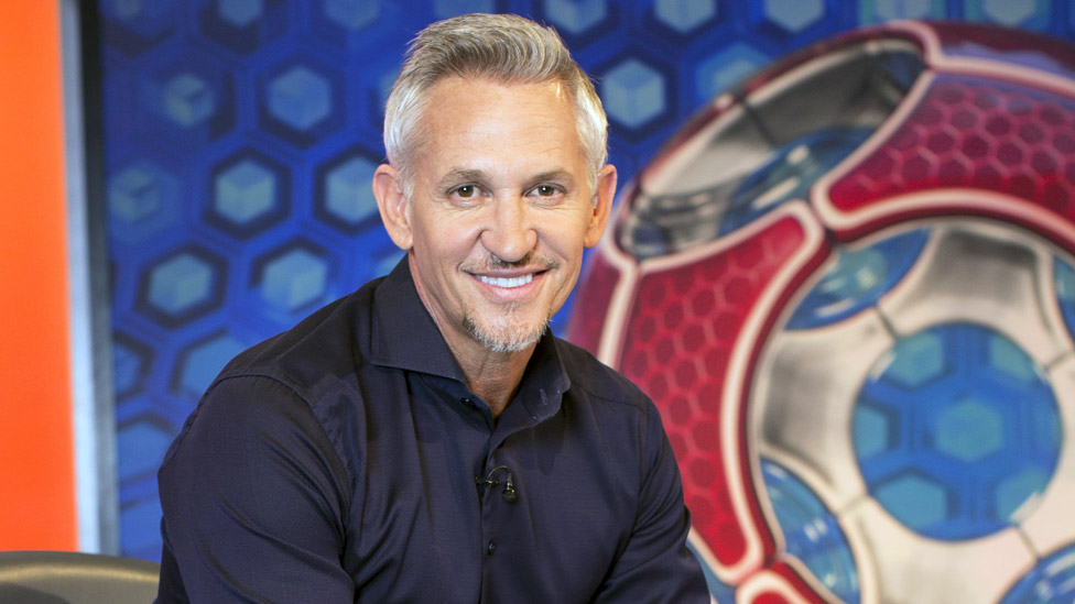Gary Lineker on Match of the Day