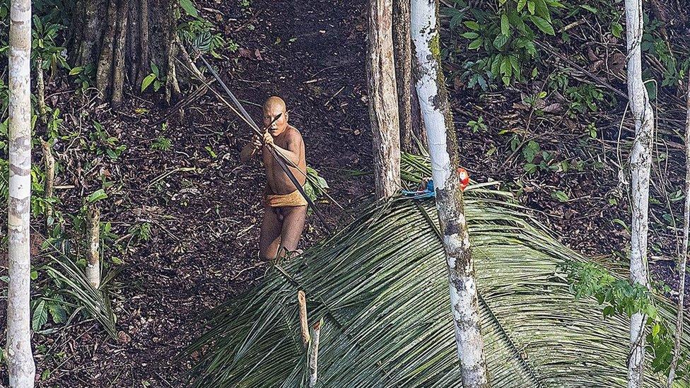 Pojedina plemena su živela mimo civilizacije generacijama