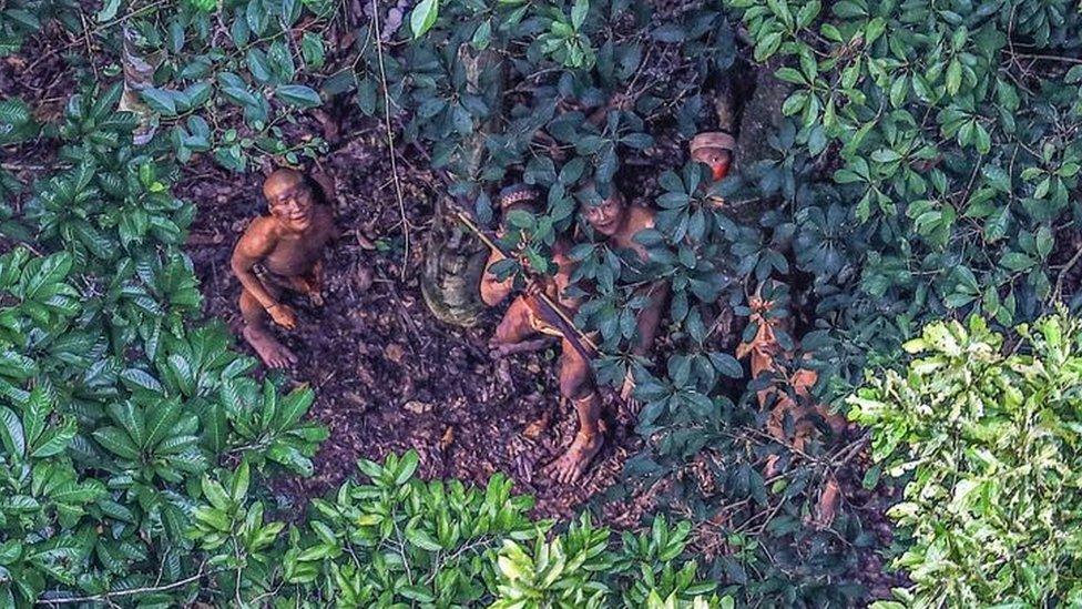 Amazonija je region brojnih plemena
