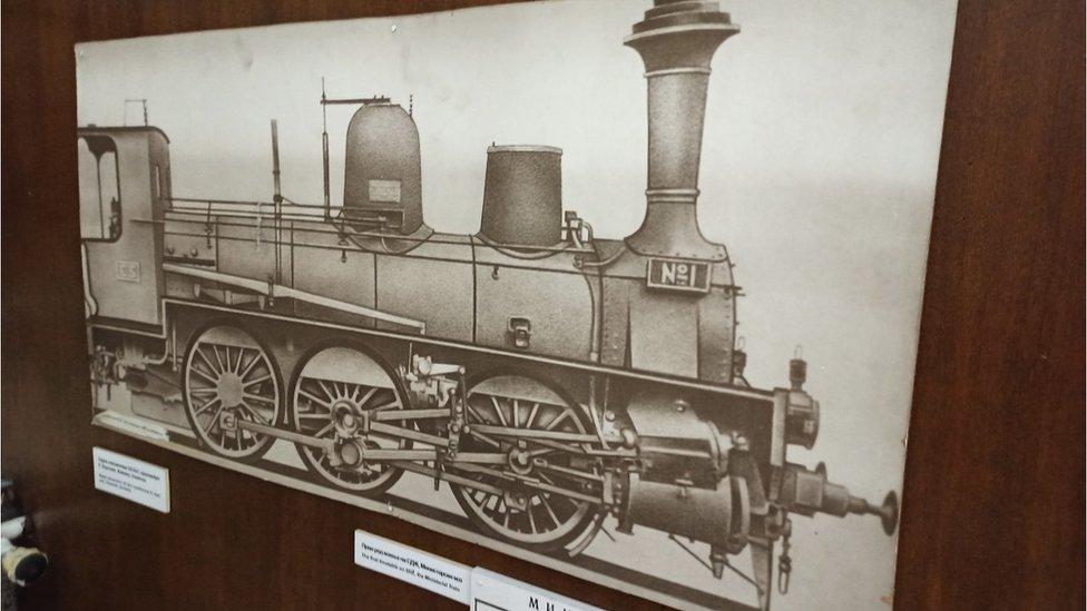 Skica lokomotive