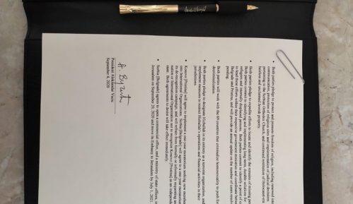 Šta piše u sporazumima koji su jednostrano potpisani u Vašingtonu? (FOTO) 7