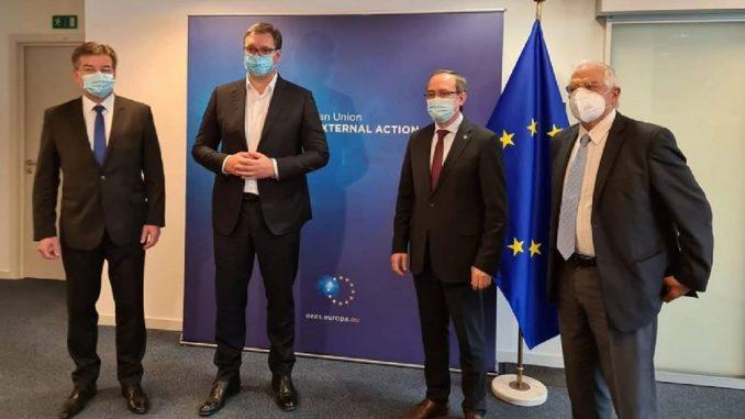 Srbija-Kosovo: Pozitivni signali sa sastanka u Briselu 1
