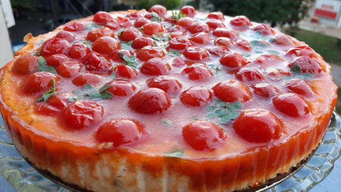 Recept za slani čizkejk (cheesecake) 1