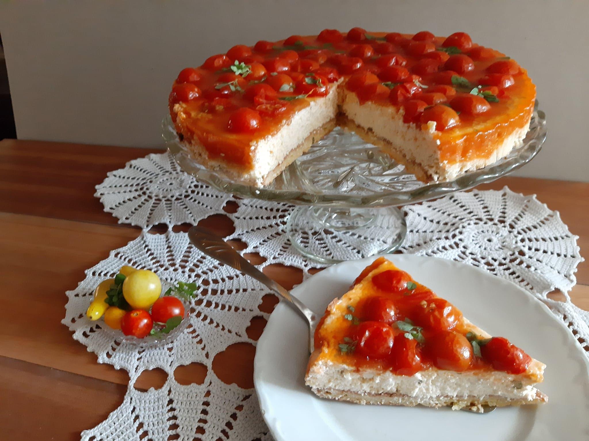 Recept za slani čizkejk (cheesecake) 2