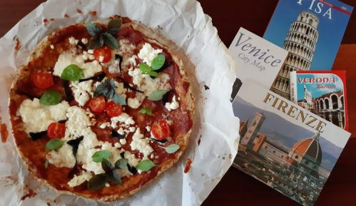 Recept za keto pizzu karfiolizzu 2