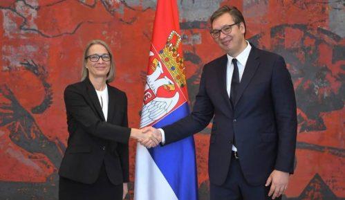 Nova ambasadorka Danske predala je danas akreditivna pisma predsedniku Srbije 8