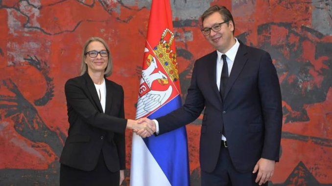 Nova ambasadorka Danske predala je danas akreditivna pisma predsedniku Srbije 3
