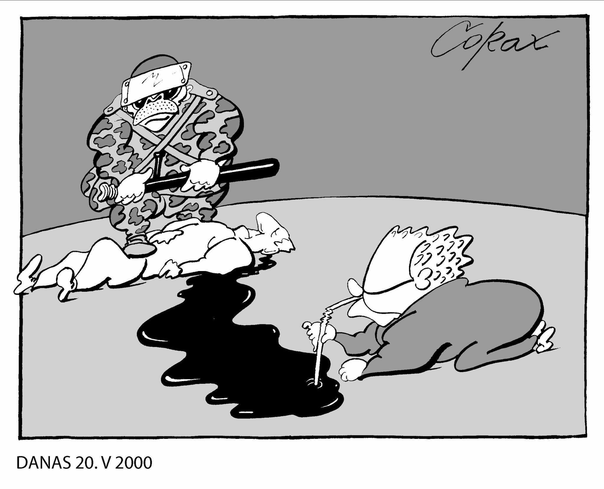 Koraks: Građani Srbije su robovi velikog zla - Vučićevog režima 2