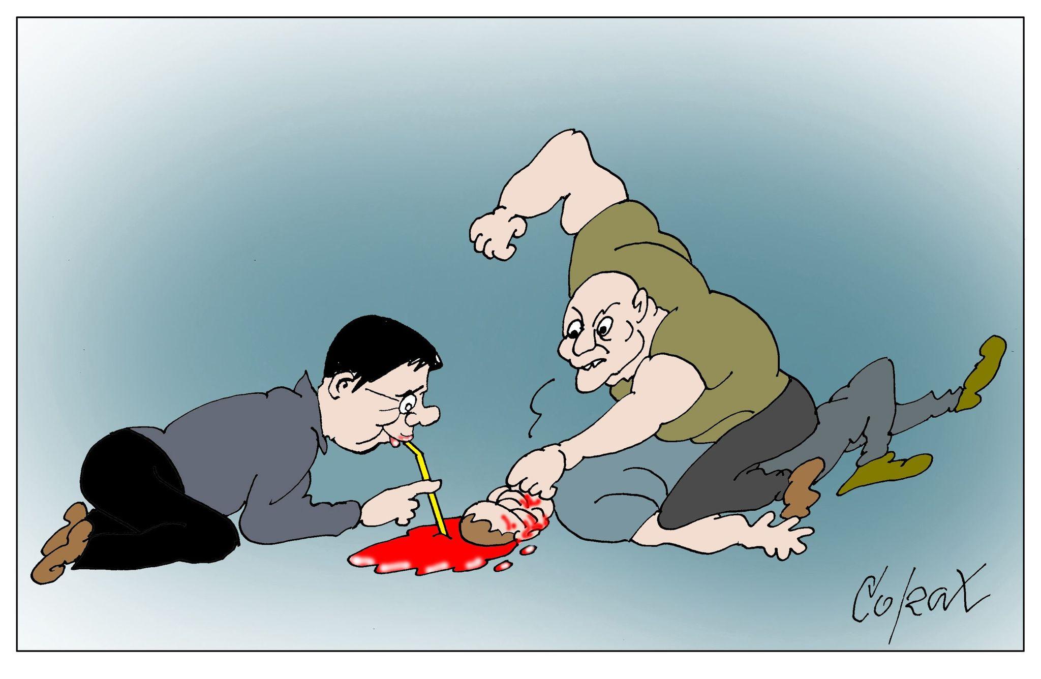 Koraks: Građani Srbije su robovi velikog zla - Vučićevog režima 3